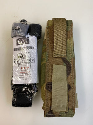 USGI Combat Application Tourniquet CAT 7 & Multicam Pouch SEKRI IFAK First Aid