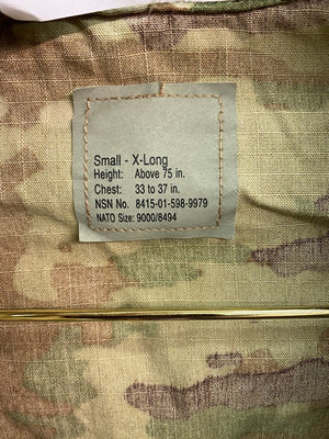 USGI FRACU Flame-Resistant Army Combat Uniform Coat - OCP SCORPION /MULTICAM