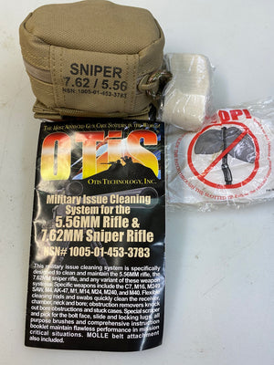 Otis Sniper Cleaning System (MFG-308-7) (7.62mm / 5.56mm), NSN: 1005-01-453-3783