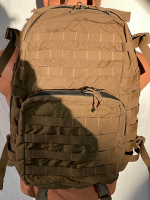 USMC FILBE ASSAULT PACK COYOTE PROFESSIONALLY REPAIRED
