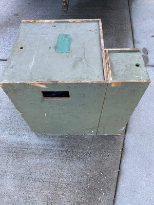 "Military Tent Stove (M-1941), New - ""Unused"" DATED 1950`S"