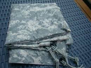 US Army ACU Reversible Field Tarpaulin NSN 8340-01-600-4809 Ground Cover TARP