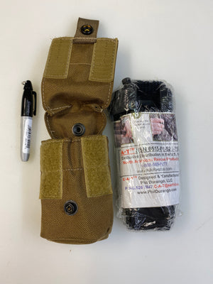 "Genuine U.S. Marshals Drop Free Tourniquet Pouch • TK INCLUDED + SHARPIE ""NEW"""