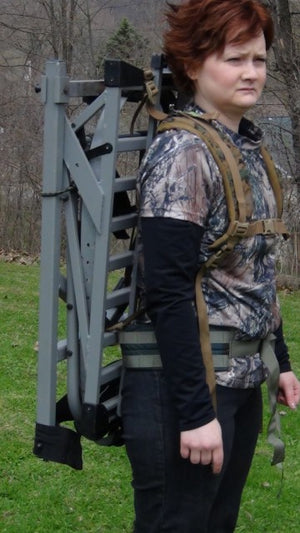 BUTTON BUCK TREESTAND HARNESS