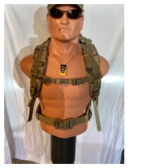 MEDIUM MultiCam Backpack Panel ,Radio Carrier Set Up - DEVGRU SEAL SOF, RANGERS