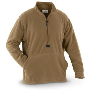 USMC Polartec 100 Fleece Pullover Jacket Coyote Brown MEDIUM (New in Package)