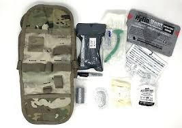 """NEW"" USGI IFAK II Military Individual First Aid Kit Medical Field Gear Complete Pack"