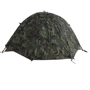 USMC 2-MAN COMBAT TENT COMPLETE SHELTER SYSTEM US MILITARY,  DIAMOND !
