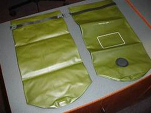 2-USMC MACS SACK WATERPROOF DRY BAG SEAL LINE US MARINE MILITARY  ILBE,FILBE,  9L