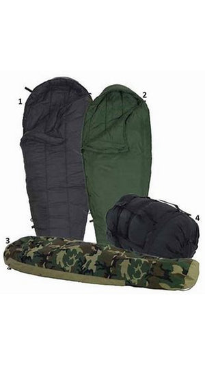 USGI 4 Piece Modular Sleeping Bag System w/ Woodland Goretex Bivy NEW OR USED