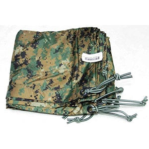 Orc Industries, Inc. Official USMC Woodland Marpat Reversible Field Tarp