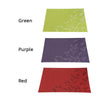 Image of 4 Pcs PVC Flower Place Mats