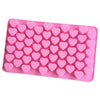 Image of 55 Holes Mini Heart Silicone Mold