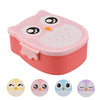 Image of Cute Owl Lunch Box