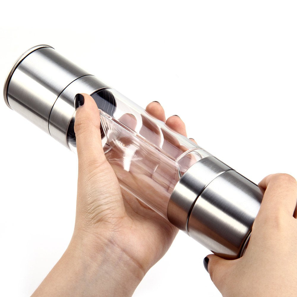 Stainless Steel Pepper Mill Grinder