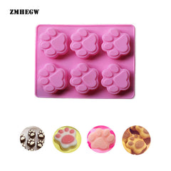 Cat Paw Print Silicone Mold