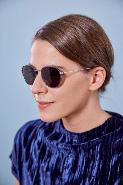 Article One Concord blue Promised Land LA sunglasses