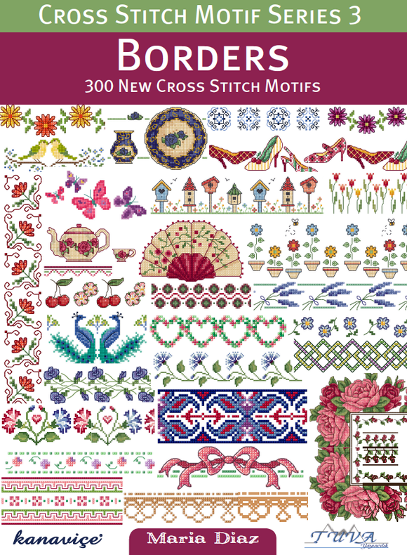 Cross Stitch Motif Series 3: Borders | Paperback