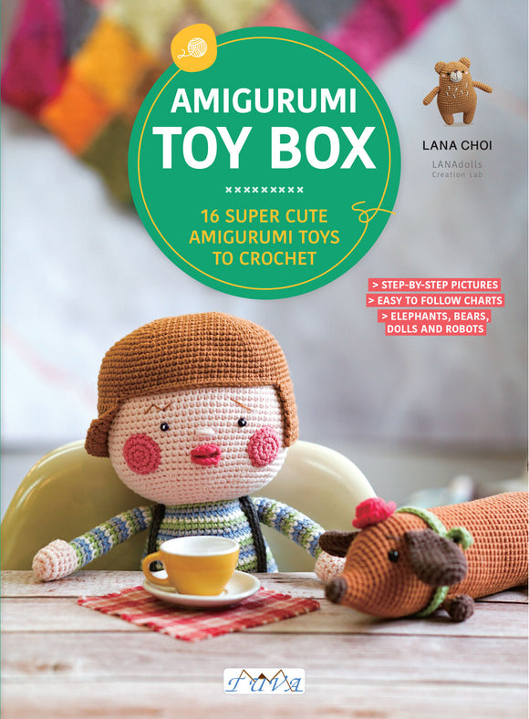 Amigurumu Toy Box | Paperback