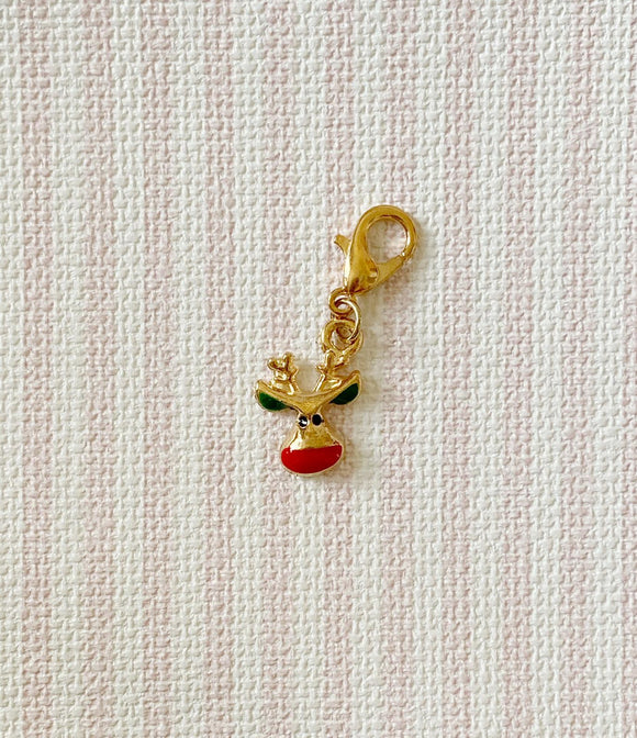 Christmas Deer 1 / Stitch Marker