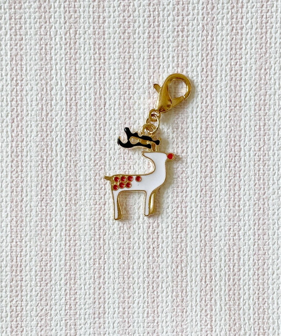 Christmas Deer 3 / Stitch Marker