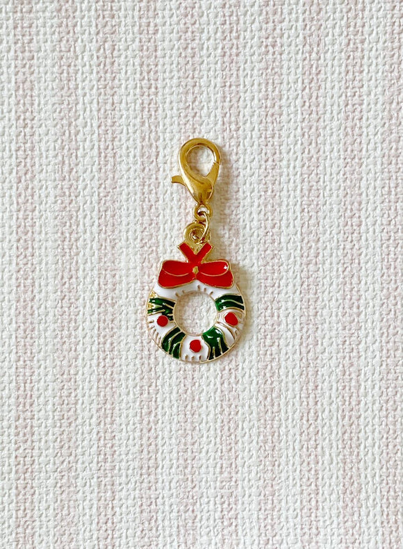 Christmas Wreath / Stitch Marker