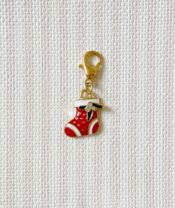 Christmas Sock / Stitch Marker