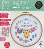 BCS02 Cross Stitch Kit - 15.5cm