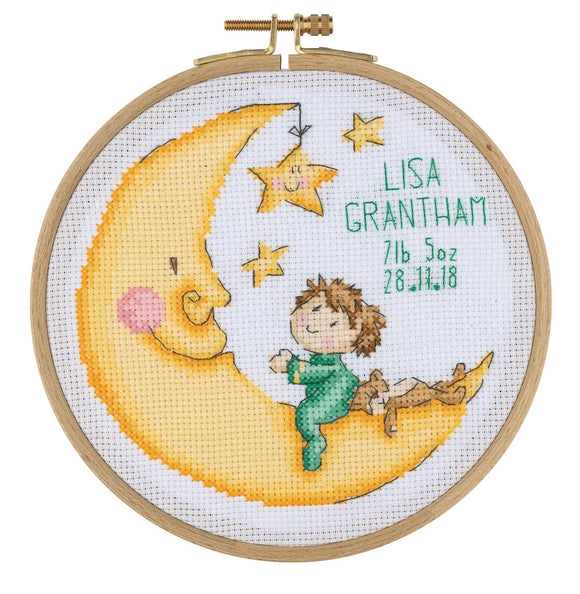 BCS04 Cross Stitch Kit - 15.5cm