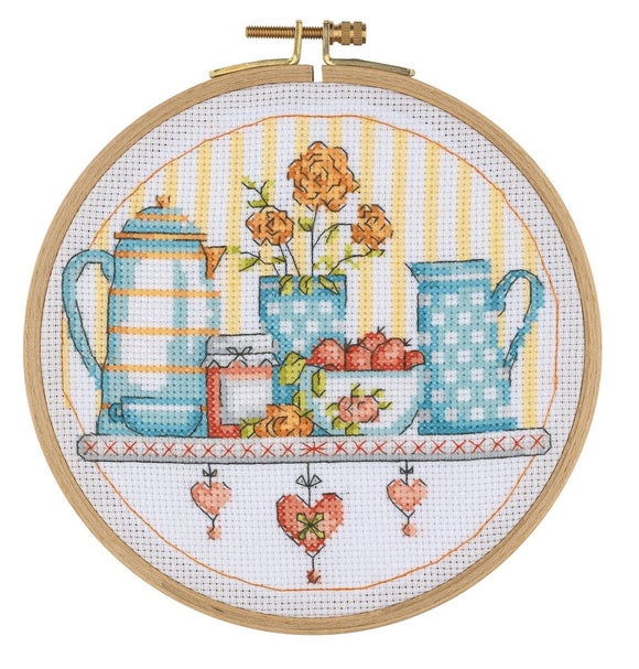 BCS06 Cross Stitch Kit - 15.5cm