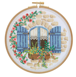 CCS10 Cross Stitch Kit - 18.5cm