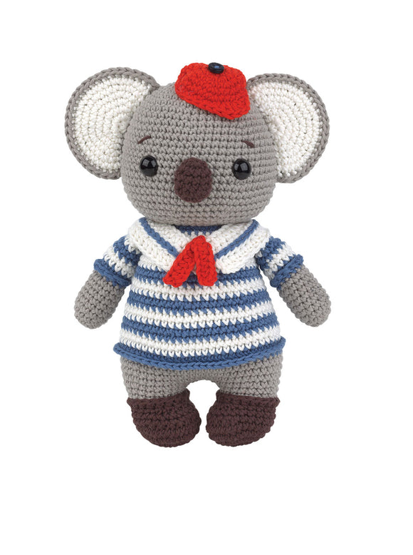 Crochet Amigurumi Kit - Cocola The Koala