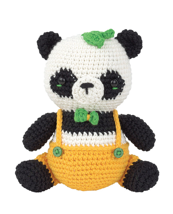 Crochet Amigurumi Kit - Little Panda Peter