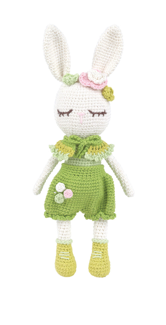 Crochet Amigurumi Kit - Vivy The Bunny