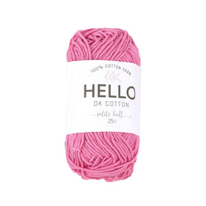 Hello Cotton 103 - Shocking Pink