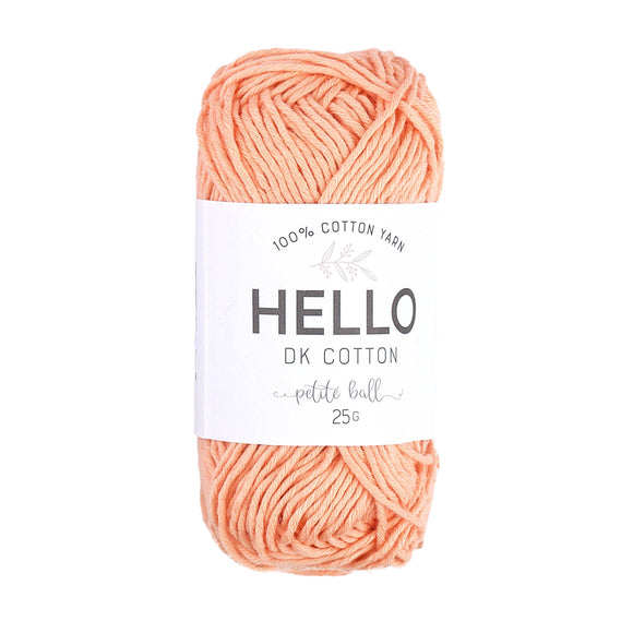 Hello Cotton 110 - Coral Reef