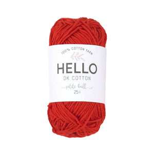 Hello Cotton 113 - High Risk Red