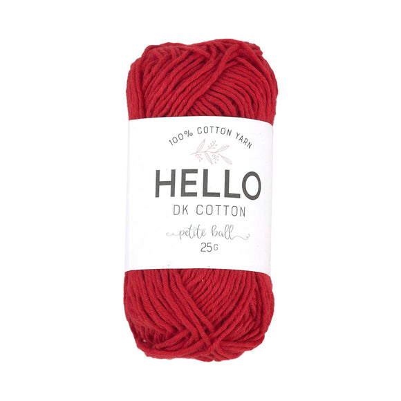 Hello Cotton 114 - Chinese Red