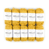 Hello Cotton 124 - Golden Rod