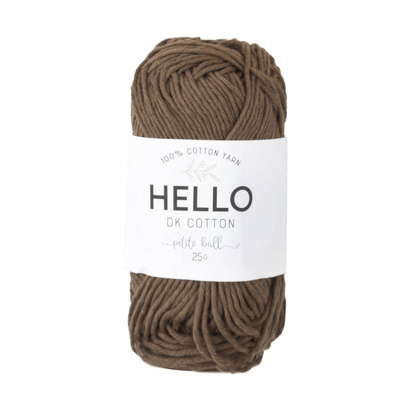 Hello Cotton 126 - Toffee