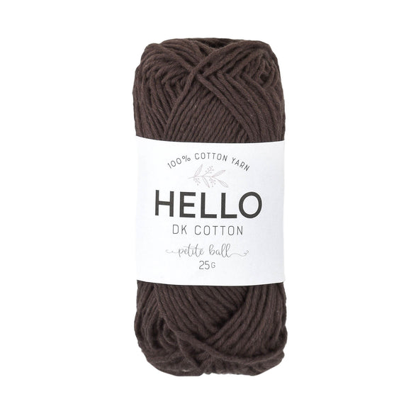 Hello Cotton 127 - Chestnut