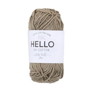 Hello Cotton 128 - Silver Mink