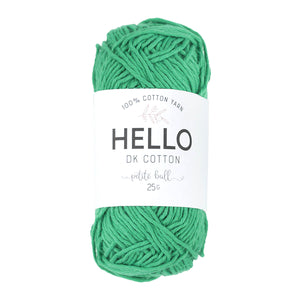 Hello Cotton 132 - Emerald