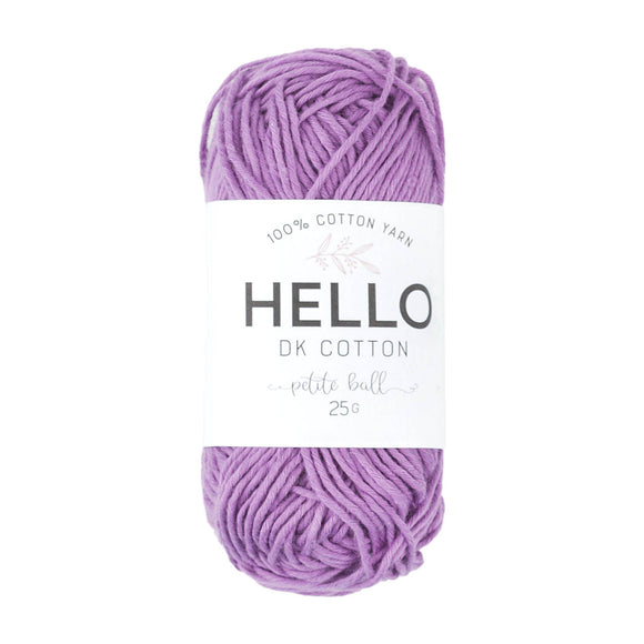 Hello Cotton 142 - Mulberry