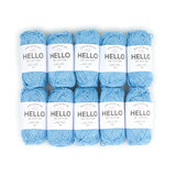Hello Cotton 147 - Bonnie Blue