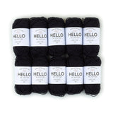 Hello Cotton 160 - Black Coal