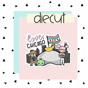 BDS Love, Chicago Diecut