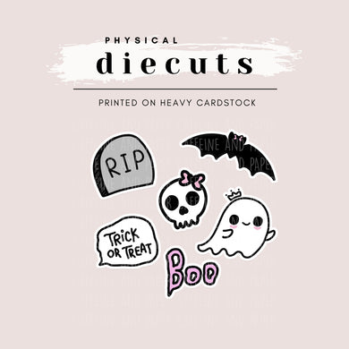 Diecut - Spooky Cute Things