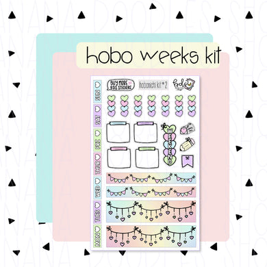 Hobonichi Weeks Kit: Pastel Love