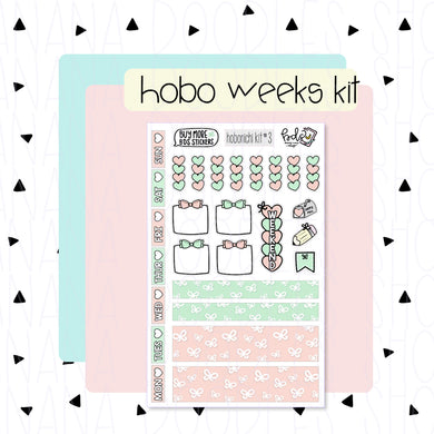 Hobonichi Weeks Kit: Bows Love